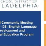 YOU'RE INVITED! Annual Community Meeting on Policy 138: English Language Development and Bilingual Education Program