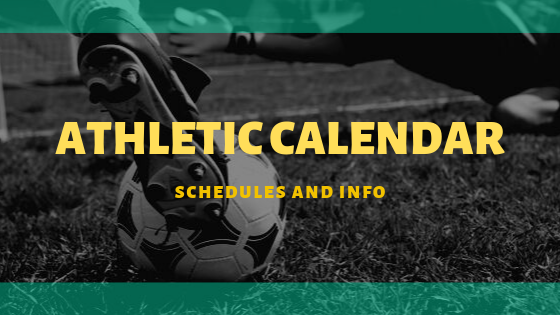 Athletic Calendar Poster