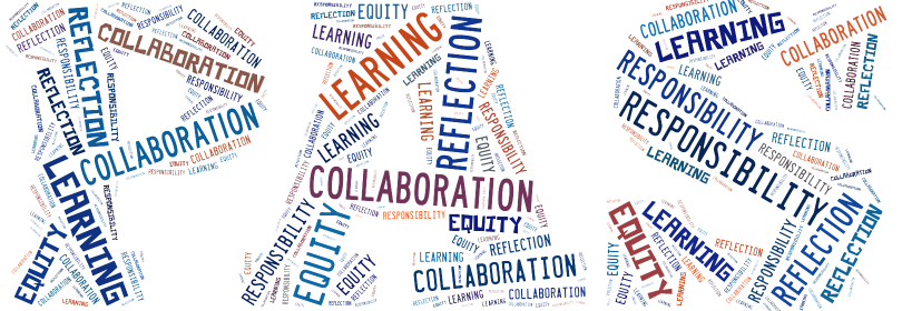 Penn Alexander Word Cloud image for core values
